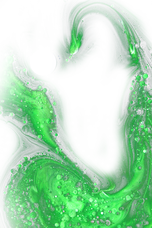 green splash