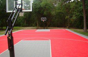 park basketball court